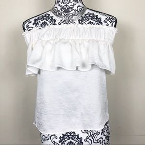 Express | Off The Shoulder Ruffle Top Size XSmall